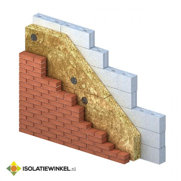 Rock4All steenwol 1200x600x120mm Rd=3,40 2,88 m2/pk